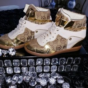 High top Designer Wedge Sneakers